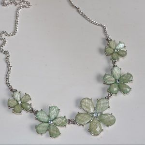 Light Green Flower Necklace